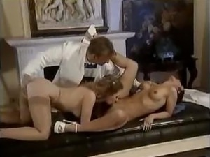 Horny doctors working their sexy patients' tight asses out