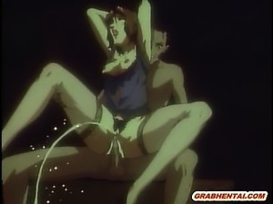 Busty hentai hot riding cock and squirting cum