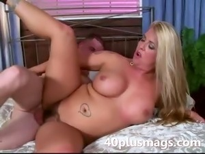 ravishing blonde housewife Caitlin