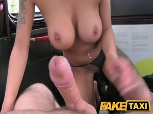 I cum in her ass in the back of my taxi