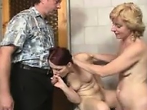 Teen And A Horny Older Couple