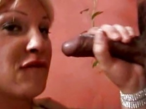 Tranny Sucking Cock And Getting Fucked