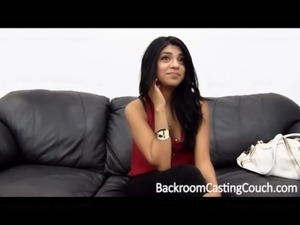 Married Indian Teen's First Assfuck on Casting Couch free