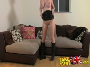 FakeAgentUK Filthy hot euro girl in anal casting free