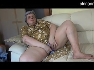 Dirty Granny licking old mature woman