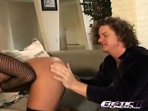 Sandra Romain gets her pink hole fucked deep and hard