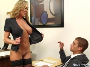Professor Brandi Love is a slutty cougar that has a
