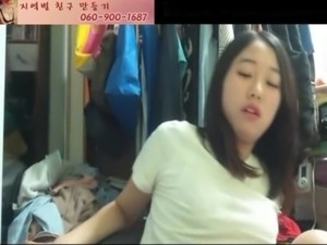 weird korean girl suck her toes free