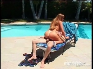 Hollywood Harlots Darla Crane, Big Boobs Brunette One Outdoors public MILF...