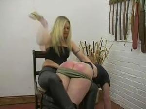 Spanking miss Harding