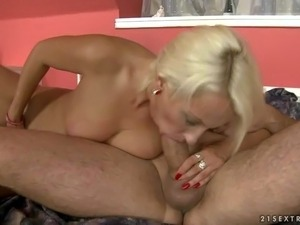 Szandi is a sex obsessed mature blonde that gets her