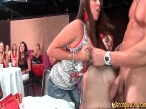 Hot Babes Suck the Stripper - Dancing Bear Orgy free