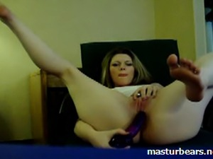 Paulina 27 years. Big masturbation fun on my home webcam. 3 friends were...