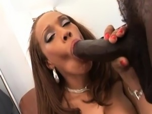 Big breasted ebony slut fucked hardHot bodied ebony slut