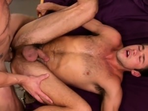 Hung twink amateur assfucked in dorm