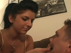 Mistress Christina - My boyfriend cums in my mouth
