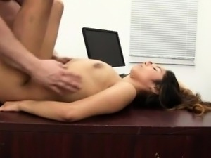 Amateur Latina get a big cock in Casting - CuntManager.com