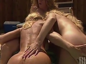 Nina Hartley, Rebecca And Summer! Groupsex At A Pool! blowing And Doggy And...