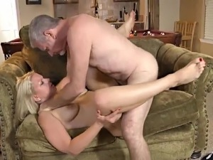 Older Couple have great time