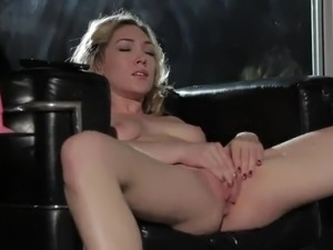 Oustanding Leather Chair Is awesome For Sensuous ass hole Solo Action!