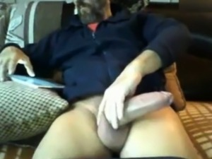 big cock of mature bearded bear Berry