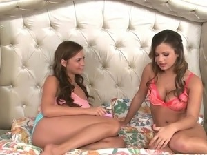 Keisha Grey And Mia Malkova exhibit Their chest To Each Other