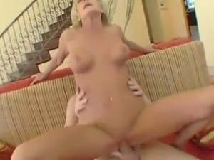 Big-Titted Blonde Milf Cara Lott Is drilled By the great horn