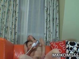Yoshiko Makihara - Horny JAV Mature Drilled And Creampied