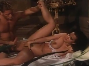 Sensuous latin black haired loves It giant inside A Bedroom