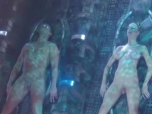 Fantastic action Of Alien Like pair bump