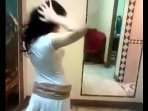 Arab sexy dancing teasing