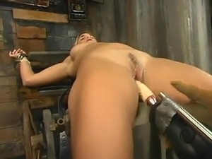Sensuous White haired nearby the Fine brown hole Is Being Amazed By the...