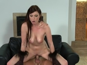 Hot sex finish cum on tits