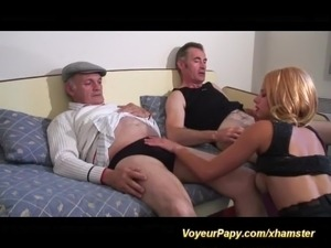 voyeur papy in hot sex action