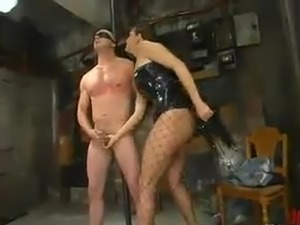 Nick Nite has Mouth-fucked all over the sex toy And likes Being Beaten