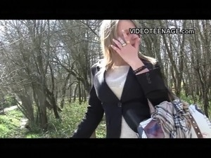 18 years old blonde teen first porno casting