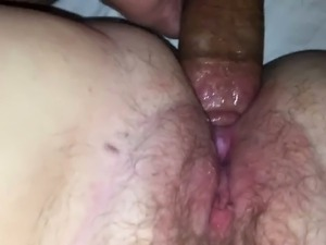 Wife literally cums on me