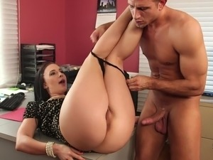 Hired for her nice big ass