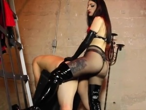 Mistress Strapon Ass Fuck