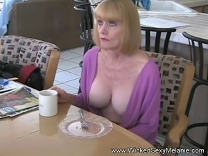 Hot amateur GILF Wicked Sexy melanie has some erotic and nasty fun in this...