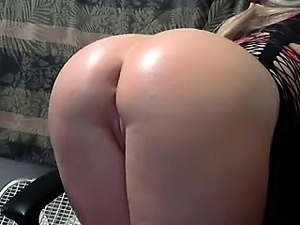 Insatiable blonde sucks a cock and gets her hot pussy worke