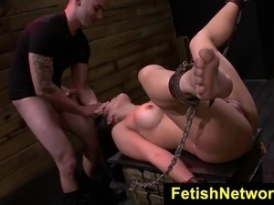 FetishNetwork Mia Li dungeon bondage sex