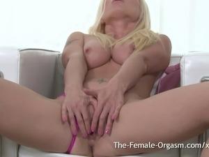 Screaming to flushed blonde orgasm masturbates sex valuable answer