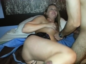 Rico Gardner fucking breding slut white blond wife