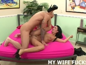 I want to try riding a big male pornstar cock