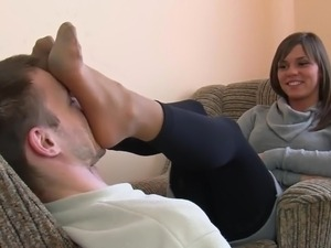 My feet on your face