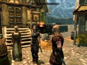 Perils of escaped Skyrim slavegirl 07