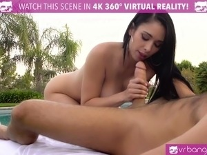 VR BANGERS- Jackie Wood DEEP pussy Massage and Cum Shot