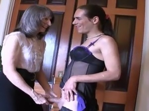 Mrs Loving and Ms Simone, tease and humilate this sissy boy