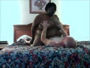 Loud and horny ebony ssbbw huge natural breasts